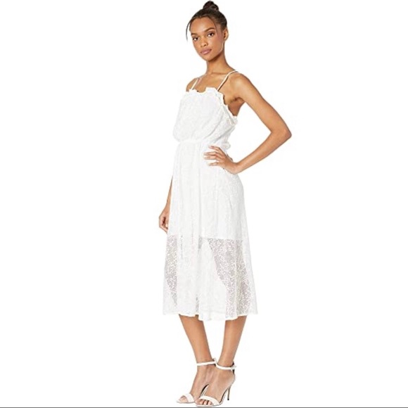 (NWT) BCBGeneration Lace Overlay Strappy Dress